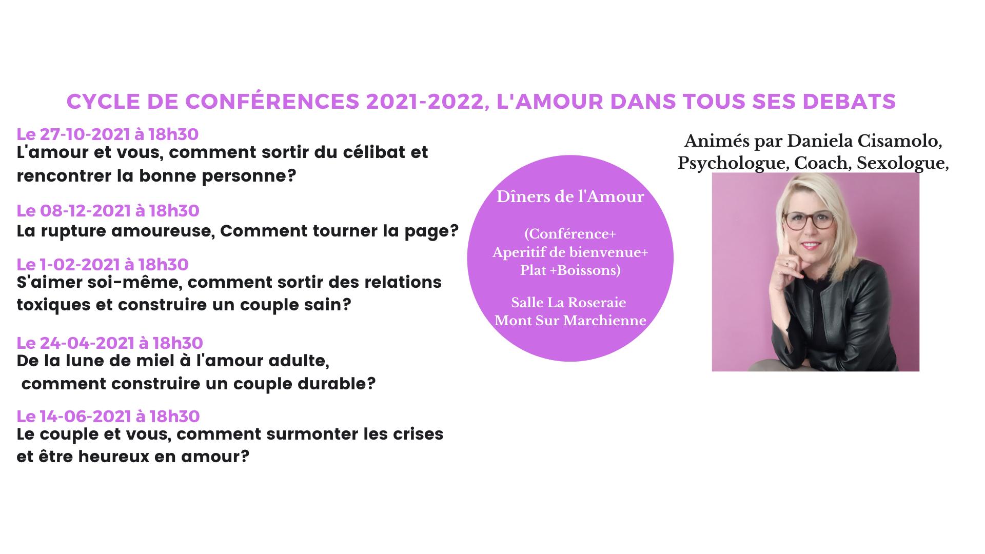 Conférences 2021-2022